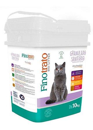 Granulado Sanitário Finotrato Bio-Litter para Gatos - 10kg