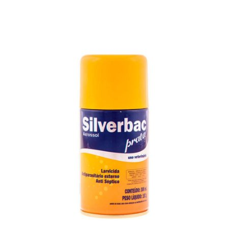 Antisséptico Labgard Silverbac Prata Aerosol 300ml
