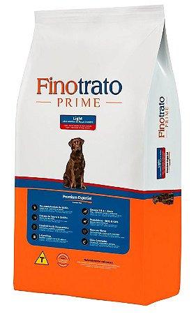 Ração Finotrato Prime Light Premium Especial para Cães Adultos de Raças Grandes - 15Kg