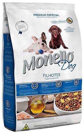 Ração Monello Dog para Cães Filhotes - 7Kg