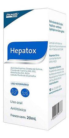 Antitóxico Provets Hepatox para Cães e Gatos