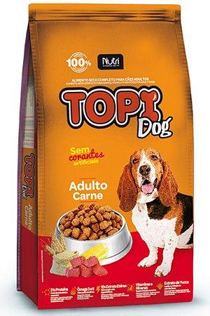 Ração Topi Dog sabor Carne para Cães Adulto - 25kg