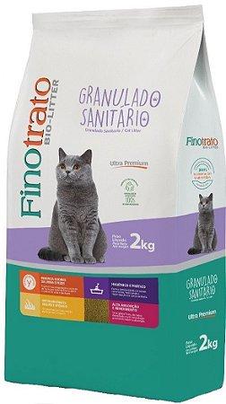 Granulado Sanitário Finotrato Bio-Litter para Gatos - 2kg