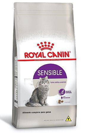 Ração Royal Canin Sensible para Gatos Adultos Sensíveis - 7,5Kg