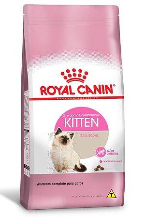 Ração Royal Canin Kitten para Gatos Filhotes com até 12 meses de Idade - 400g