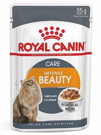 Ração Úmida Royal Canin Sachê Feline Intense Beauty para Gatos Adultos - 85g