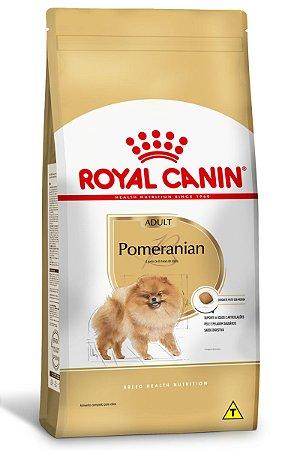 Ração Royal Canin para Cães Adultos da Raça Pomeranian - 1Kg ou 2,5Kg