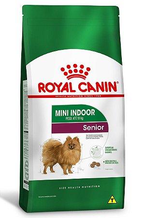 Ração Royal Canin Mini Indoor Senior para Cães de Raças Pequenas - 1Kg ou 2,5Kg