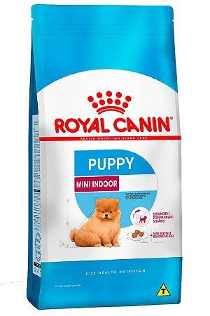 Ração Royal Canin Mini Indoor Puppy para Cães Filhotes de Raças Pequenas - 1Kg ou 2,5Kg