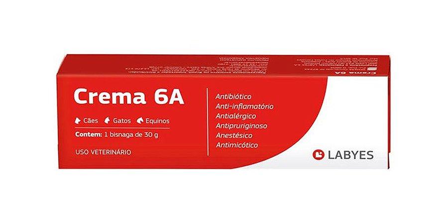 Crema 6A Labyes para Cães e Gatos - 15g