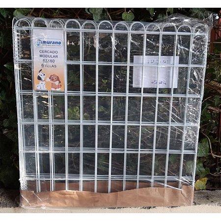 Cercado para Cachorro Modular com Mola 63x60 com 6 telas - Murano