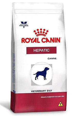 Ração Royal Canin Canine Veterinary Hepatic para Cães Adultos com Problemas Hepáticos - 10Kg