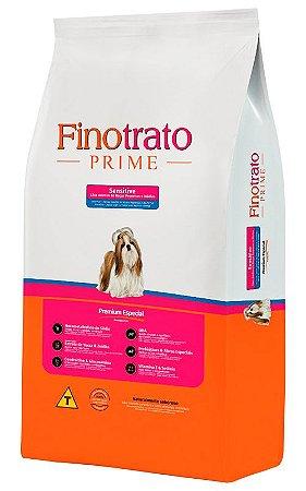 Ração Finotrato Prime Sensitive Premium Especial para Cães Adultos de Raças Pequenas e Médias - 10,1kg