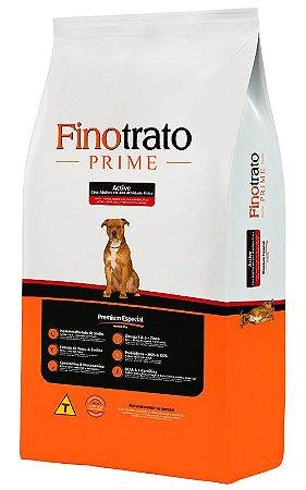 Ração Finotrato Prime Active Premium Especial para Cães Adultos em Alta Atividade Física - 15kg