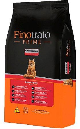 Ração Finotrato Prime Premium Especial para Gatos Castrados - 10,1kg