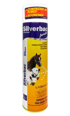 Antisséptico Silverbac Prata Aerosol Labgard - 500ml