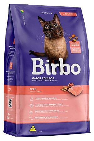 Ração Birbo Premium Sabor Peru para Gatos Adultos - 7Kg