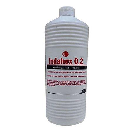 Indahex Clorexidina 0,2% Solução Aquosa 1 Litro