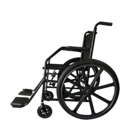 Cadeira de rodas plus 23 semi obeso 100K roda nylon