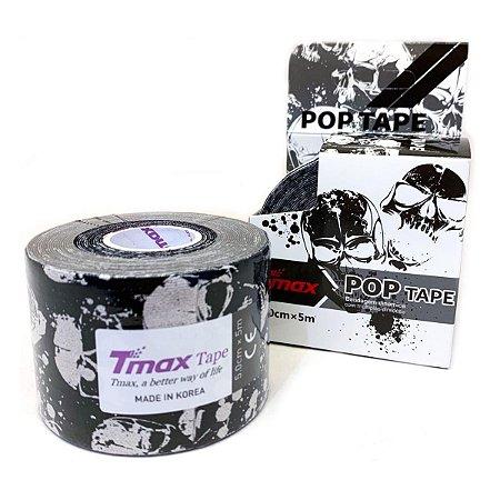 Bandagem Elástica Adesiva Tmax 5cm x 5m - Caveira