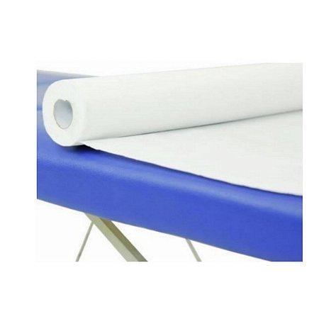 Papel Lençol Branco I 70cm x 50m - 10 Unidades - Clean