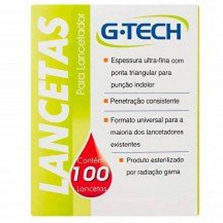 Lancetas G-tech Universal Caixas 100 Unidades