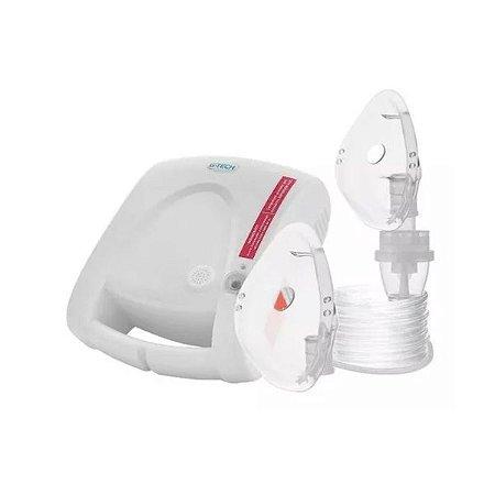 Inalador Nebulizador Nebcom V G-tech Branco Bivolt Superflow