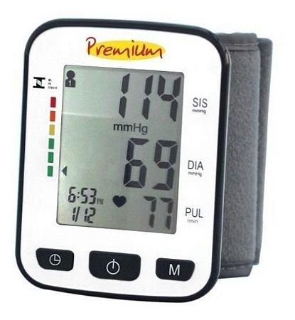 Aparelho Medidor De Pressão Digital Pulso Premium - Bsp21