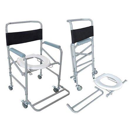 Cadeira De Banho Higienica Dobravel Suporta Até 100 Kg Dellamed D40