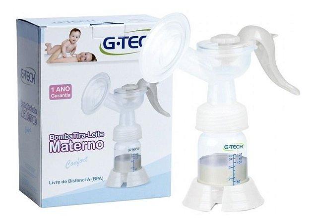 Bomba Tira Leite Materno Comfort Manual G-tech