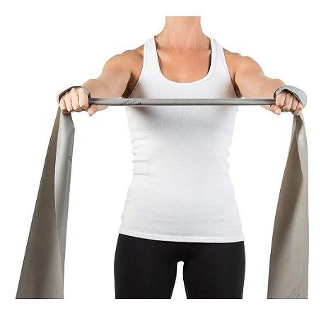 Faixa Elástica Para Exercícios Prata Super Forte - Mercur