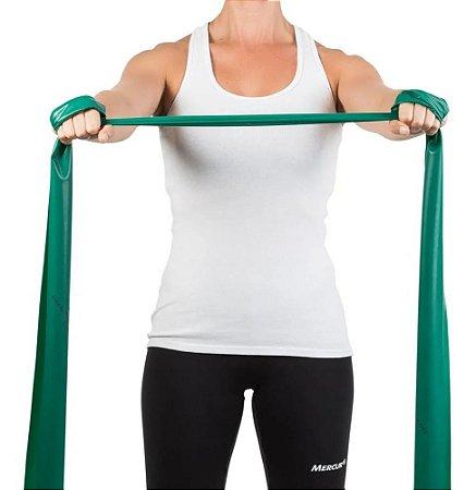 Faixa Elástica Para Exercícios Forte Verde - Mercur