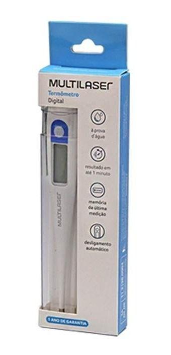 Termômetro Digital Clinico Multilaser Hc070
