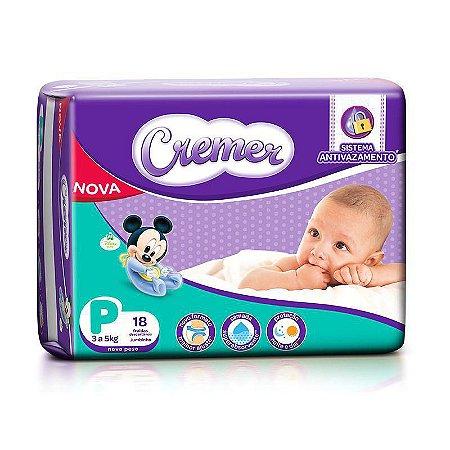 Fralda Cremer Disney Baby Jumbinho P 18un - Fardo 08 Pacotes