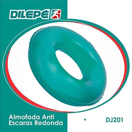 Almofada Anti Escaras Redonda Inflável Orifício - Dilepé