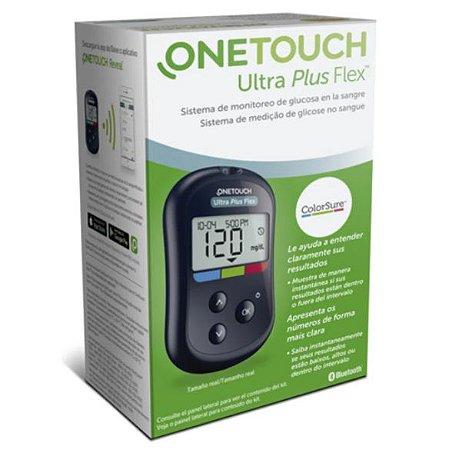 Aparelho Medidor De Glicemia Onetouch Ultra Plus Flex