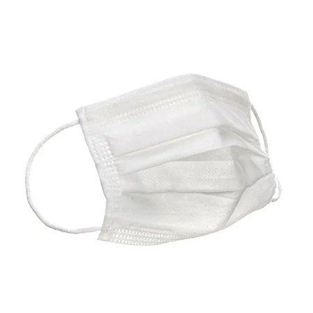 Máscara Cirúrgica Tripla Descartável EasySupri Branca caixa com 50 unidades