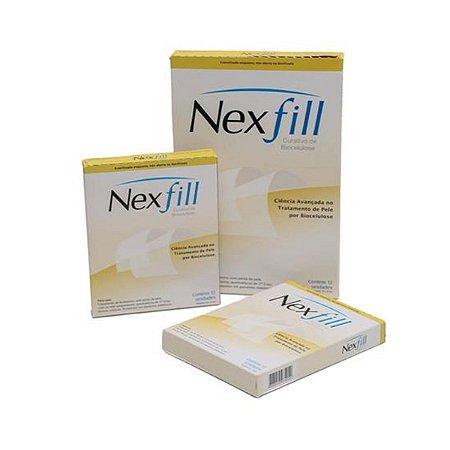 Curativo Biocelulose Liso 08X10 caixa com 12 unidades - NEXFILL