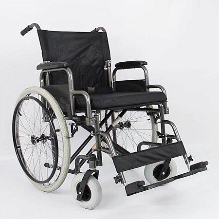 Cadeira De Rodas Adulto Em Aço Dobrável D400 T40 Dellamed