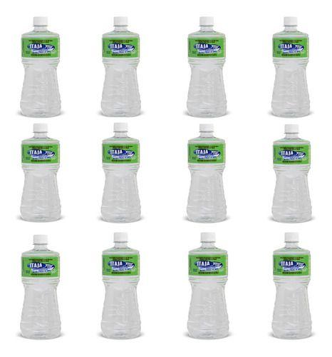 Alcool 70% Etílico Líquido 01 Litro Itajá - 12 Unidades