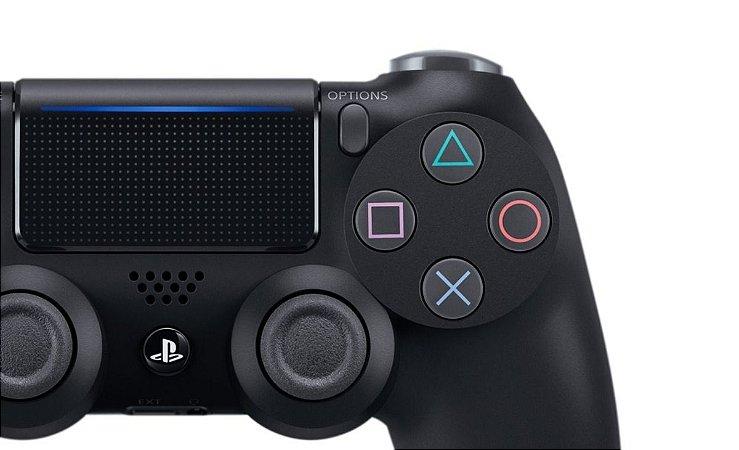 Controle Dualshock 4 preto