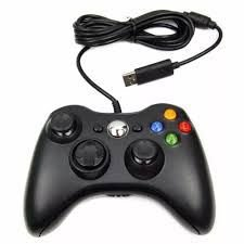controle xbox 360 com fio (paralelo)