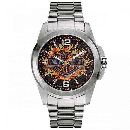 Relógio Bulova Masculino Harley Davidson WH30528T - 76A147