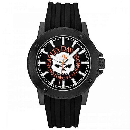 Relógio Bulova Masculino Harley Davidson WH30466P