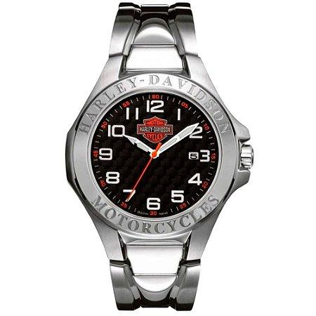 Relógio Bulova Masculino Harley Davidson WH30180T