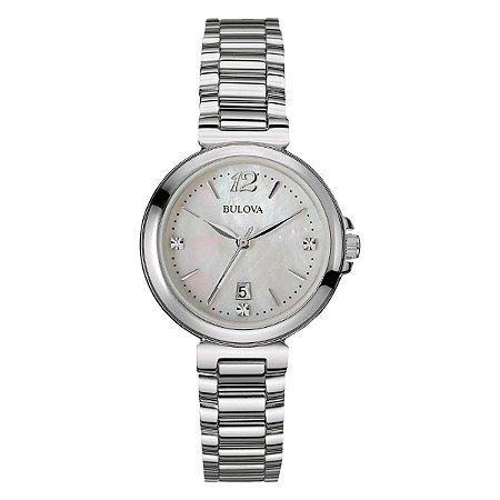 Relógio Bulova Feminino Diamond WB27903Q