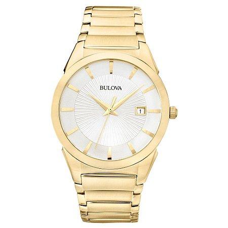 Relógio Bulova Masculino Dourado WB21605H