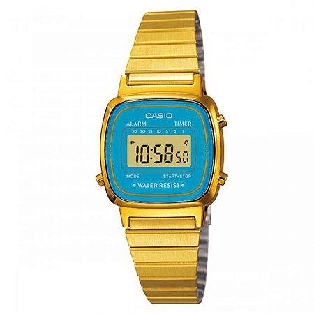 Relógio Casio Feminino Vintage Collection LA670WGA-2DF