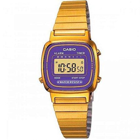 Relógio Casio Feminino Vintage Collection LA670WGA-6DF