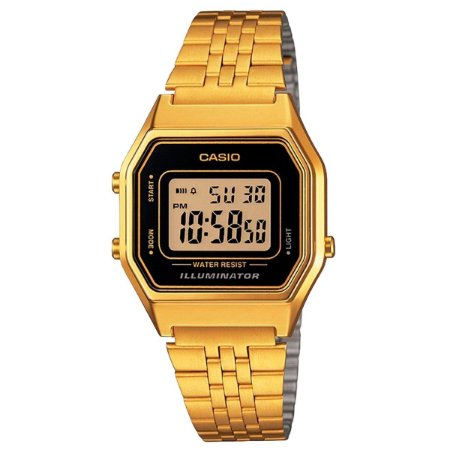 Relógio Casio Feminino Vintage Collection LA680WGA-1DF